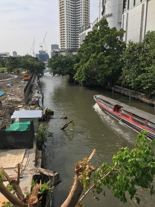 Waterway in the heart of Bangkok