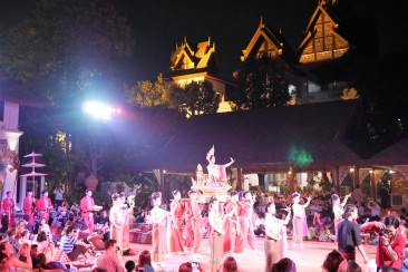 Khantoke dinner with traditional dance performance, Chiang Mai