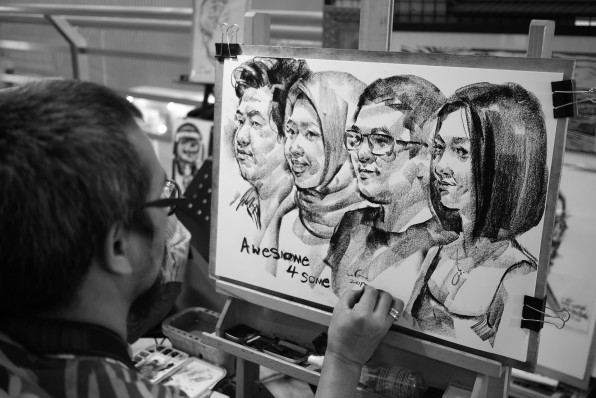 Sketch Artist in Bangkok
