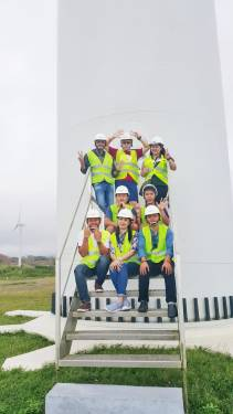 GSP group working on renewable energy pays Petrowind a visit in Aklan